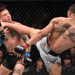 Kevin Lee encajó uno de los mejores KO del año en UFC 244