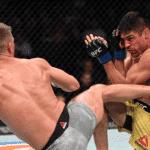 Vicente Luque, el peleador chileno-brasileño, sufrió una dura derrota en UFC 244