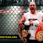 Dana White responde a las ganas de Tyson Fury por moverse a las MMA