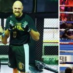 Video: Tyson Fury entrena MMA con Darren Till y llama la atención de Dana White