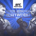 Luego de 3 semana retorna UFC con Alistair Overeem como protagonista