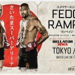 Último evento de MMA de 2019: Fedor Emelianenko, Rampage Jackson y Michael Page protagonizan la acción