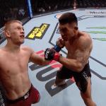 UFC 245 abrió los fuego con un impresionante KO