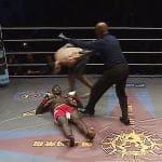 El único KO que ha recibido Israel Adesanya en las artes marciales