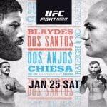 Horario: Este sábado vuelve UFC con Junior dos Santos y Rafael dos Anjos