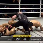 Peleador de MMA intenta someter al árbitro tras ser noqueado