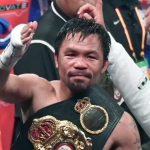 Manny Pacquiao firma con Conor McGregor