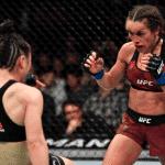 Zhang retuvo ante Joanna en la mejor pelea de la historia de las MMA Femeninas