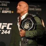 The Rock envía un mensaje a Francis Ngannou y a los peleadores de UFC
