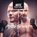 Salarios UFC: Smith recibió una paliza y un pago bastante bajo. Arlovski se llevó la mejor bolsa