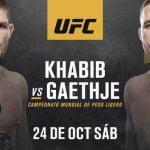 Es oficial: Khabib Nurmagomedov vs Justin Gaethje por la unificación de títulos