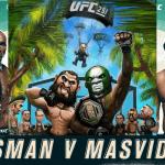 Horario y Cartelera del UFC 251: Usman vs Masvidal