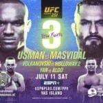 En Vivo: Disfruta de la acción de UFC 251