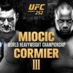 Cartelera y Horario de UFC 252