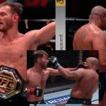 Stipe Miocic venció con polémica a Daniel Cormier y retuvo el título de UFC