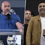 """Presidente de UFC sobre el regreso de Óscar De La Hoya al box: """"la cocaína no es barata"""""""