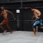 Paulo Costa recreó pelea de UFC 253 contra Israel 'Runnersanya'