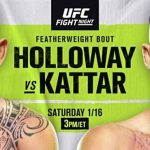 Este sábado regresa UFC a la isla, en horario especial y con atractiva cartelera