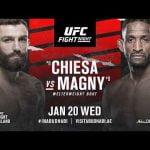 Horario: UFC regresa este miércoles en horario matinal