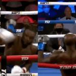 """El video viral del alucinante nocaut que """"desmayó"""" de pie a un boxeador"""