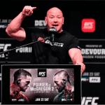 Dana White, presidente de UFC,  tiene claro quien es el GOAT de los Deportes de Combate