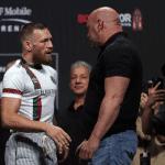"""Dana White protege a Conor McGregor: """"tiene artritis crónica"""""""