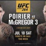 Horario: Este sábado se completa la trilogía entre McGregor y Poirier