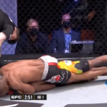 Horrible: árbitro permite estrangulamiento pese a que peleador está visiblemente inconsciente