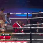 Vitor Belfort demolió a Evander Holyfield en un triste espectáculo de boxeo